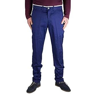 Elettrico Uomo Amazon Blu Pantalone Uomo Blu Elettrico Pantalone rthsdQ