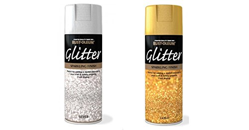 rust-oleum-glitter-particle-spray-paint-gold-and-silver-sparkling-finish-400ml