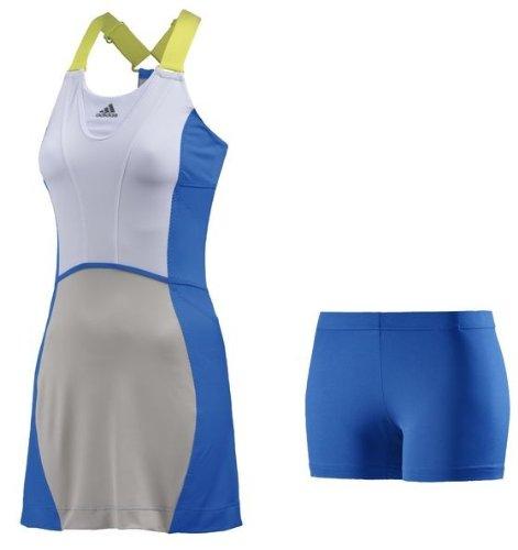 adidas Tennis Kleid Stella McCartney Barricade Dress (Blau, 28)