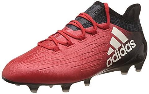 Adidas X 16.1 FG, Herren Fußballschuhe, Rot (Rosso Rojo/ftwbla/negbas), 42