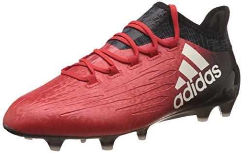 Adidas x 16.1 fg, scarpe da calcio uomo, rosso (rojo/ftwbla/negbas), 44 eu