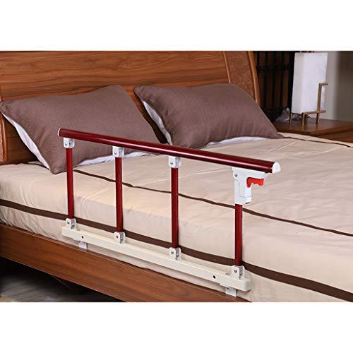 WCX Schiene Klappbares Bettgitter Stoßfänger Fallschutz Bettschutzgitter Tragbares Bettgitter,Für Ältere Menschen Unterstützen Erwachsene Den Griff Des Bettgeländers (Size : 95X40CM) -