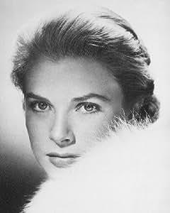 GRACE KELLY #11 - Photo cinématographique en noir et blanc- AFFICHE - 60x50cm