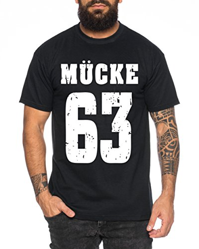 WhyKiki Mücke 63 Buddy Movie Star Film Herren T-Shirt, ()