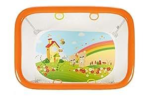 Brevi 584 Box Royal per Bambini, Rettangola con 4 Maniglie, Arcobaleno