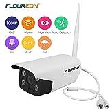 FLOUREON 1080P Outdoor IP Camera, 2.0 MP H.264 Wireless Security Bullet Camera