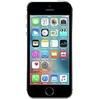 "Apple iPhone SE 10,2 cm (4"") 16 GB SIM única 4G Negro, Gris - Smartphone (10,2 cm (4""), 640 x 1136 Pixeles, 16 GB, 12 MP, iOS 9, Negro, Gris)"