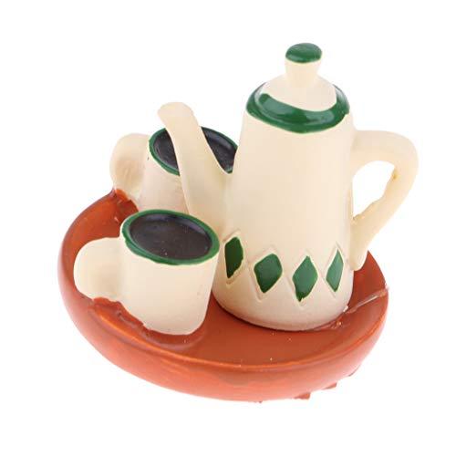 Fenteer Puppenhaus Küche Zubehör Mini Lebensmittel Modell für 1:12 Puppenstube Esszimmer Dekoration - Kaffeetasse
