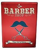 Blechschild Beruf Zunft Friseur Laden