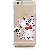 Shinyzone Bunt Transparent Hülle für iPhone 6S Plus/iPhone 6 Plus,Kreativ Lächeln Katze Muster Ultra Flexibel... preisvergleich bei billige-tabletten.eu