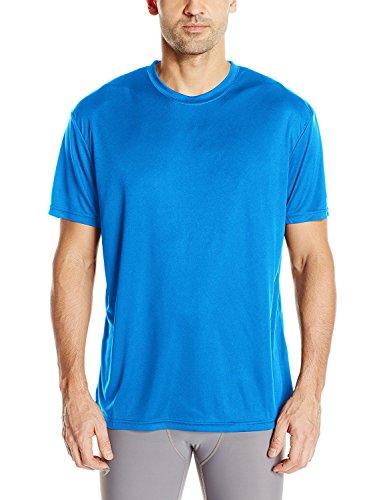 Craft Herren Essential T-Shirt für sportliche Performance, Feuchtigkeitstransport, leichtes technisches T-Shirt, Herren, Sweden Blue, 4X-Large -