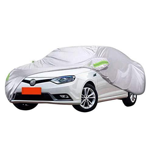 POLKMN Autoabdeckung Allwetter-wasserdichter Schutz-Staub-Sun-UV-Baumwollreißverschluß für im Freien sitzende Sedan (größe : 2014) (Cabrio Für Auto-alarm)