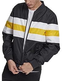 Urban Classics Striped Nylon Jacket, Cappotto Uomo