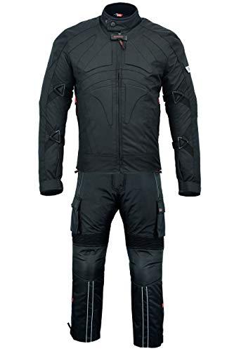BULLDT 2-teiler Motorradkombi Cordura Textilien Motorradjacke + Motorradhose, 62/5XL