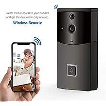 Seasaleshop Timbre Video WiFi Doorbell GAKOV GAB10 cámara de Timbre Inteligente inalámbrica de 170 Grados HD