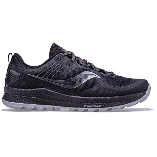 Saucony Xodus 10 Zapatillas para Correr sobre Camino de Tierra o Montaña con Soporte Neutral para Hombre Negro 45 EU