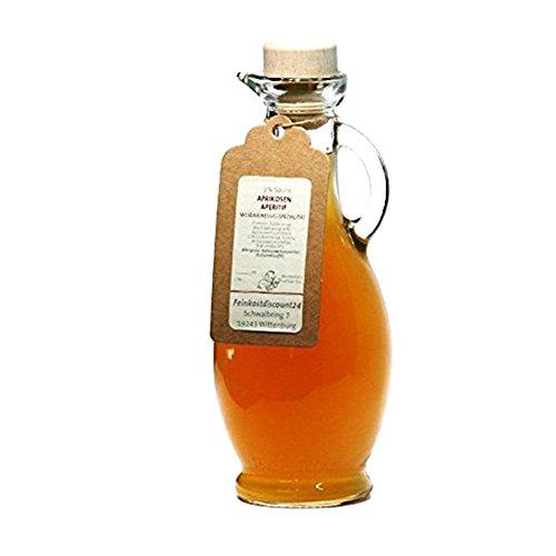 Aprikosen Aperitif Weißweinessig   3% Säure   Spezialität   500ml   in einer formschönen Essig Flasche
