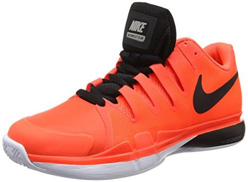 Nike Zoom Vapor 9.5 Tour Clay, Chaussures de Tennis homme Orange (Morado (Ttl Crimson/Blk-Drk Gry-White)