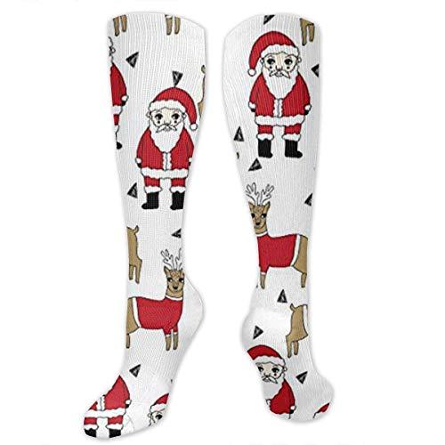 Kostüm Submarine Yellow - Gped Kniestrümpfe,Socken Santa and Reindeer Xmas Holiday Compression Socks,Knee High Socks,Funny Socks for Women Men - Best Medical,Sports,Running, Nurses,Maternity,Pregnancy,Travel & Flight Socks