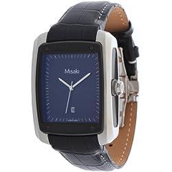 Misaki–Reloj de pulsera analógico para mujer cuarzo acero inoxidable qcrw7e