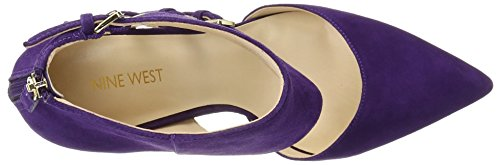 Nine West Trust Me Daim Talons Dark Purple
