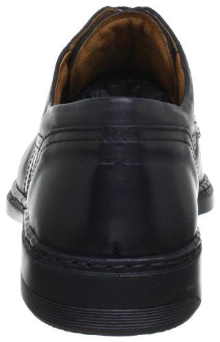 Josef Seibel Schuhfabrik GmbH conor 01 37210 820 345, Scarpe stringate basse uomo Nero (Schwarz (schwarz 600))