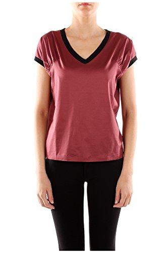 Rot Baumwolle 135553amaranto Damen shirt Prada T wXTTIqcx4O