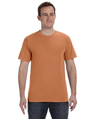 Authentic Pigment 1969gefärbt ringgesponnene T-Shirt Gr. Medium, Redwood (T-shirt Aus Pigment-gefärbtes)