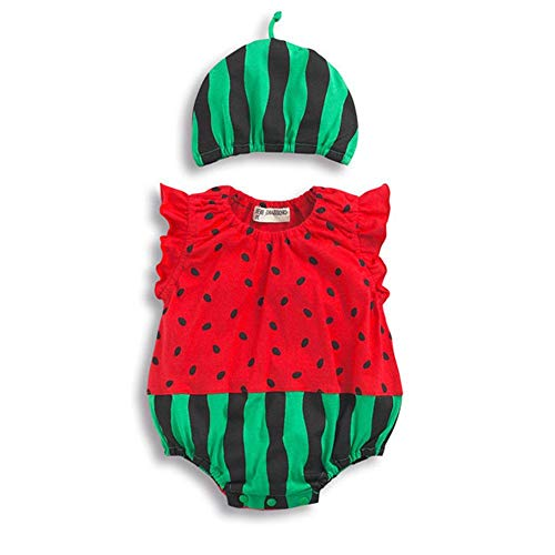 BYFRI Baby-Kind-Kind-Overall Fancy Tier Insekt Kostüm Sommer-Karikatur Onesies Ärmel Bodysuit und Hut Set Strampler Outfits für Jungs Grils (80 & - Baby Bug Kostüm