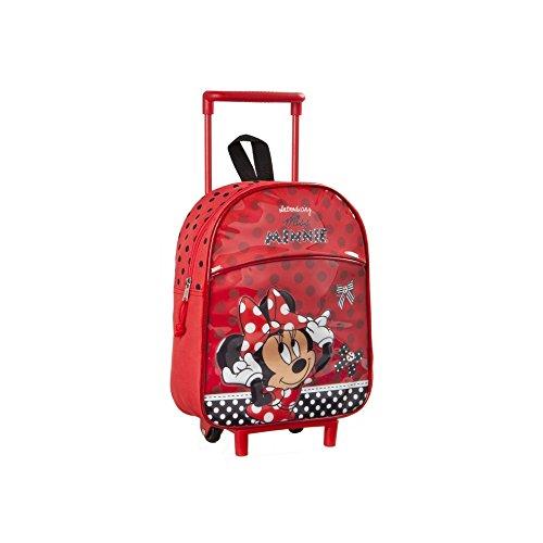 Bambini trolley zaino minnie mouse - 30 x 25 cm - scuola e asilo