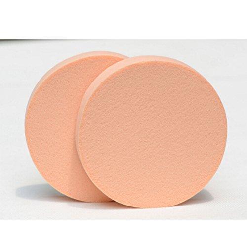 PIXNOR Maquillage Blender Foundation Houppette éponge Coussin Cosmétiques Beauté Outil 10pcs (Nue)
