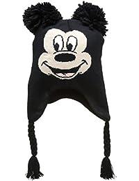 Disney–Bonnet d'hiver style péruvien officiel de Mickey Mouse Disney pour enfants