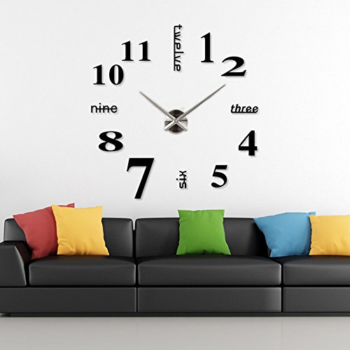 mirror-wall-clock-stickers-3d-diy-valentine-gift-home-office-decor-decoration-silver