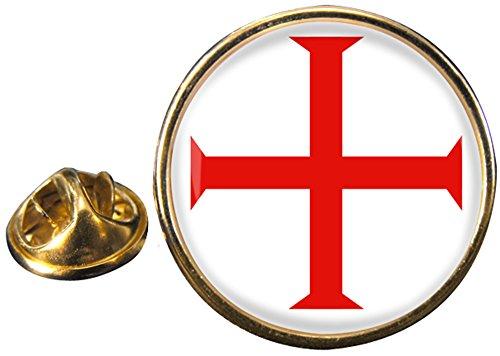 Caballeros Templarios Cruz Masónico Pin De Solapa