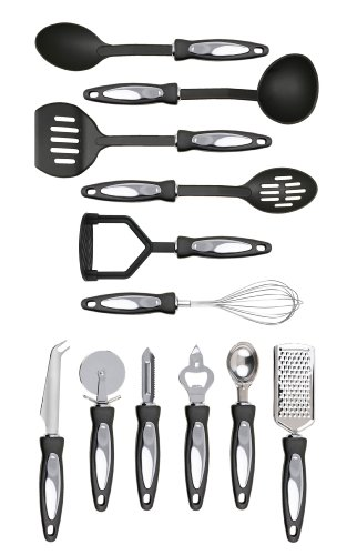 Premier Housewares Stainless Steel Tool Set, 12-Pieces