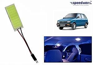 Speedwav Car Roof LED Light Rectangle BLUE-Maruti 800