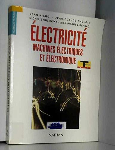 Electricité, terminales, BEP. Livre de l'élève par Niard