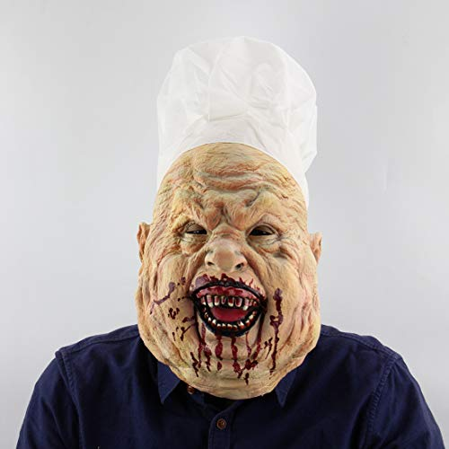 Maske Latex Biochemische Monster Maske Zombie Grave Keeper Vampir Zombie Carrion Maske Blutige Clown Lustige Halloween Cosplay Kostüm Für Erwachsene Party Dekoration Requisiten ()