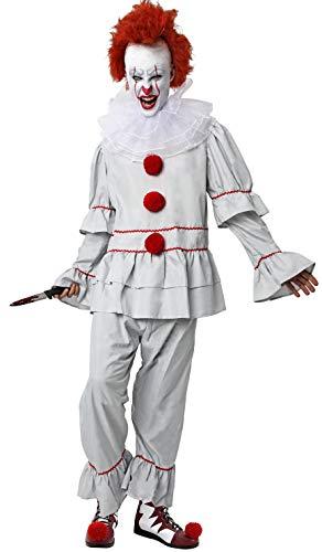 Gojoy Shop-Disfraz It Payaso Asesino Adulto Halloween