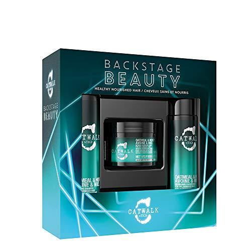 Strapaziertes Haar Die Formel (Tigi Catwalk Backstage Beauty Gift Pack Pflegeset für gesundes & gepflegtes Haar)