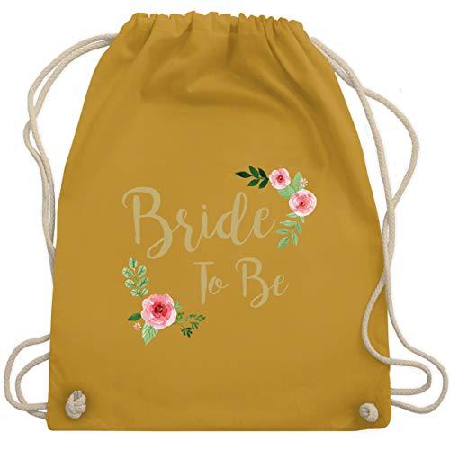 JGA Junggesellinnenabschied - Bride To Be - Unisize - Senfgelb - WM110 - Turnbeutel & Gym Bag -