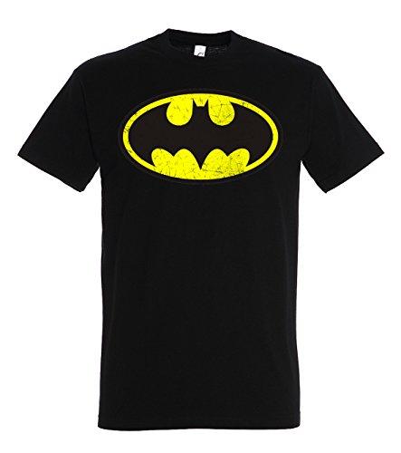 Herren T-Shirt Modell Vintage Batman, Schwarz, 5XL