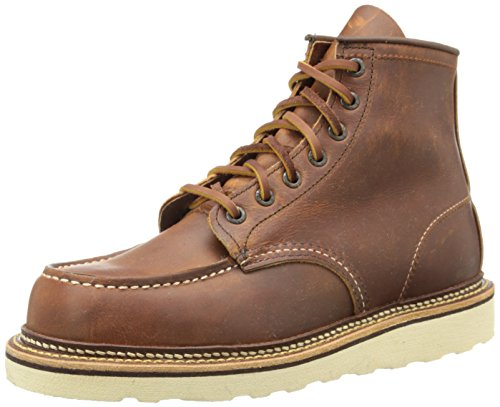 Red Wing Classic Moc 1907 Mens Leather Boots Copper - 44.5 EU