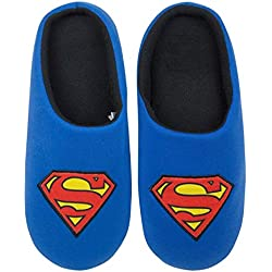 DC Comics Superman Men's Slippers (43)