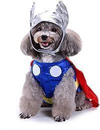 Ropa para Perros Ropa de Navidad Ropa de Mascota Creativa de Navidad de Halloween Ropa de Perro Divertida, Traje Raytheon Gusspower