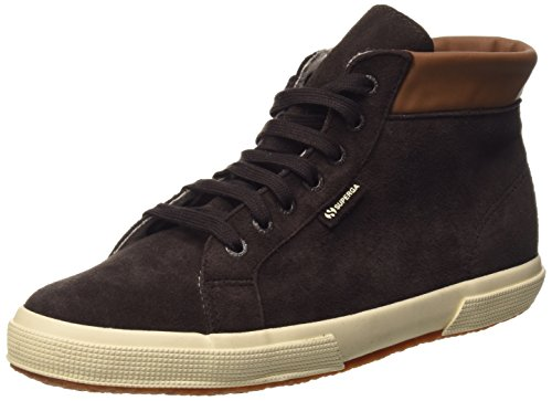 Superga 2204-Suem, Chaussures de Gymnastique Homme Marron (K51 Dark Chocolate)