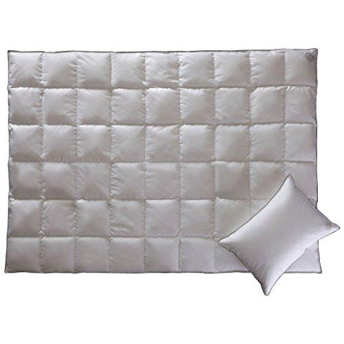 GOLD MEDIUM-Luxus Duvet- Luxus Gänsedaunen Duvet- Hypoallergen-195/215 cm- Luxus Bettwäsche-Cool Sleeping von White BoutiqueWhite Boutique- 195/215 cm