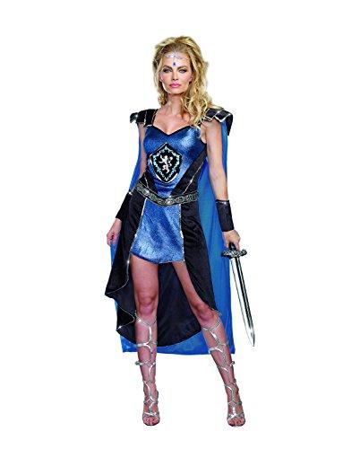 Dreamgirl 9824King Slayer weiblich Kostüm (groß)