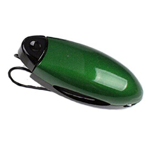 MAXFASHION Auto-Träger-Visor Sonnenbrille Eyewear Clip-Halter (grün)