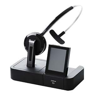 Jabra GO 6470 Micro-Casque pour Téléphone Système Antibruit Bluetooth